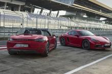 2018 Porsche 718 Boxster and 718 Cayman GTS Models Launched