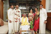'Chiyaan' Vikram's Daughter Akshita Enters Wedlock, Marries DMK Supremo M Karunanidhi's Great Grandson Manu Ranjith