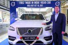 Volvo Starts Local Assembly, Rolls-Out First India-Made XC90