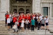 FIFA U-17 World Cup: Germany Team Visits Iconic Victoria Memorial in Kolkata