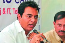 KTR Requests Centre to Hold India Telecom Summit 2018 in Hyderabad