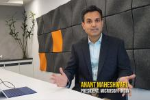 Microsoft India Eyes 50 Mn SMBs For Cloud Growth: President Anant Maheshwari [With Video]