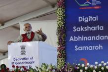 PM Narendra Modi Says Can't Afford to Have Digital Divide
