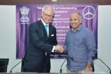 Mercedes-Benz Launches Mechatronics Program in Association With Delhi Government