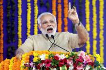 Narendra Modi Takes a Jibe at Lalu Prasad in Bihar