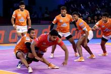 Puneri Paltan Win First Eliminator Against UP Yoddha 40-38