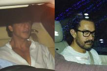 SRK, Aamir Visit Rani Mukerji's House To Offer Condolences