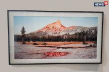 Samsung Frame First Look: A 4K UHD TV That Transforms Into Art