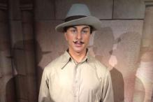 Shahid Bhagat Singh's Wax Figure at Madame Tussauds