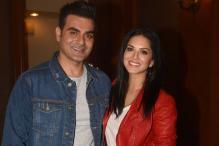 Sunny Leone, Arbaaz Khan Promote Tera Intezaar