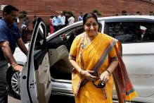 On Rahul's Women in RSS Remark, Sushma Says BJP Gave 4 Women CMs