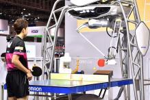 Man vs Robot: Ping Pong Robot Takes on Olympian at Tokyo Tech Fair