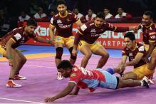 Pro Kabaddi 2017: Devadiga Creates History as UP Thrash Jaipur