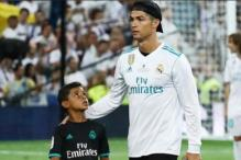 Watch: Cristiano Ronaldo Jr Scores a Superb Goal, Father Approves