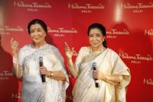 Asha Bhosle Unveils Her Wax Figure At Upcoming Madame Tussauds Delhi