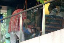 Star Spotting: Kareena Kapoor's Mom Babita Playing With Taimur