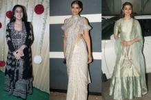 Diwali 2017: Sara, Sonam, Alia Look Chic In Traditional Attires At Ekta Kapoor's Bash