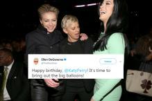 Ellen DeGeneres Faces Backlash Over Her 'Sexist' Tweet To Katy Perry