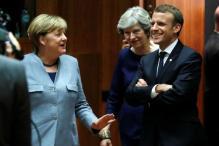 Angela Merkel and Emmanuel Macron Back Spain in Catalan Crisis