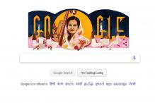 Google Remembers Begum Akhtar Through Doodle