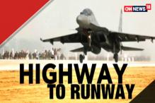 IAF Fighter Jets Touch Down on Lucknow-Agra Expressway