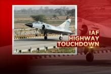 Watch: IAF Highway Touchdown For The First Time Ever on Lucknow-Agra Expressway