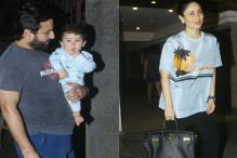 Taimur Steals The Limelight From Saif, Kareena; See Pics