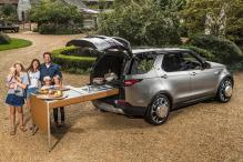 James Oliver Gets Customized Land Rover Discovery With On-The-Go Kitchen
