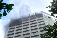 Massive Fire Breaks Out in Central Kolkata LIC Building, 3 Injured