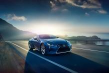 Exclusive Lexus LC Structural Blue Edition Paint Introduced
