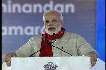 Modi in Gujarat LIVE: 'New India' Will Be Built Through Tech Revolution, Says PM