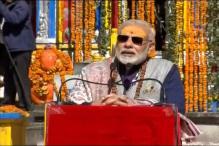 PM Modi Attacks UPA For Refusing Help in Kedarnath Reconstruction