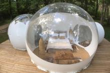 Luxurious Glamping Experience in French Wine Country Allows You to Sleep Under The Stars