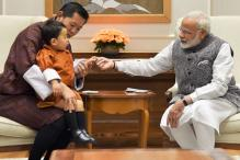 Bhutan's Adorable One-yr-old Prince is Winning Indian Hearts