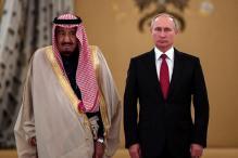 Saudi King, Valdimir Putin Eye Energy, Arms Deals on Landmark Russia Visit