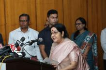 Return of Displaced Can Bring Normalcy in Myanmar: Sushma on Rohingya