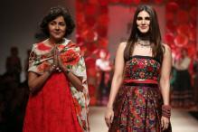 Vaani Kapoor Turns Muse For Designer Payal Jain At AIFWSS'18