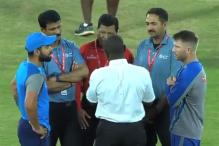 India vs Australia: 3rd T20I Called Off Due to Wet Outfield; Series Shared 1-1