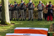 WW-I Martyred Indian Army Soldiers' Burial Ceremony