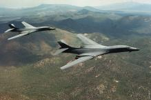 US Supersonic Bombers Conduct Exercise in South Korea Region