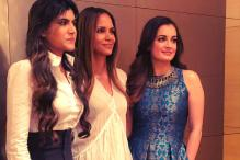 Halle Berry, Dia Mirza Bond in India