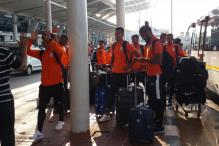 Indian Football Team in Goa for Asian Cup Qualifier vs Myanmar