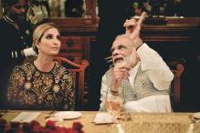 PM Narendra Modi and Ivanka Trump Dine Like Royalty at the Nizam's '101 Dining Table'