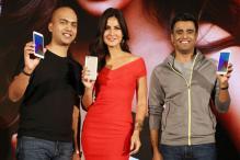Katrina Kaif Launches Xiaomi's Smartphone Redmi Y1