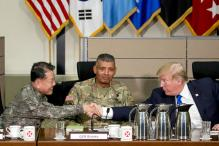 Donald Trump Reviews Military Forces in South Korea Amid Tensions