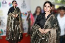 Sridevi turns heads on Day 2 of the IFFI 2017! See Pictures...