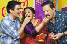 Vidya Balan Celebrates The Success Of 'Tumhari Sulu'
