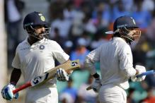 Vijay & Pujara Reach New Landmark With Double Century Stand in Nagpur
