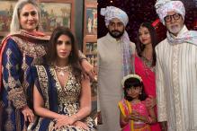 Bachchans Kick Off The Big Fat Indian Wedding Season With Great Panache