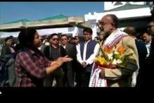 Woman Confronts K J Alphons Over Flight Delay, Minister Cites Protocol